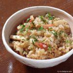 ほっき飯 ~ 生剥きほっき貝の美味しい出汁がご飯に浸み込む