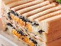 """パン好きの和朝食は """" のりたまサンドイッチ """" で決まり !?"""
